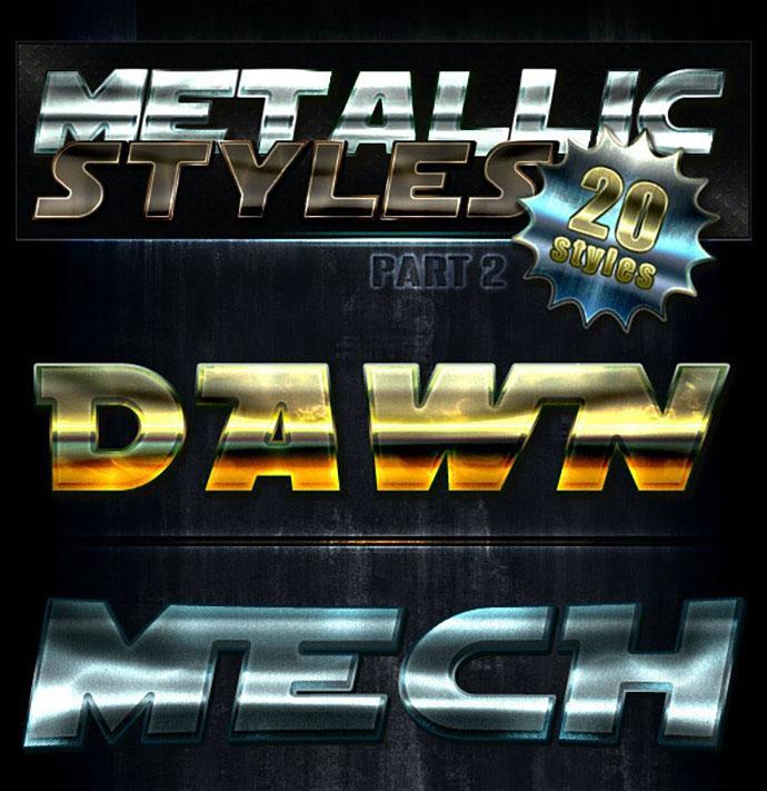 Unique Metallic Styles - Part 2