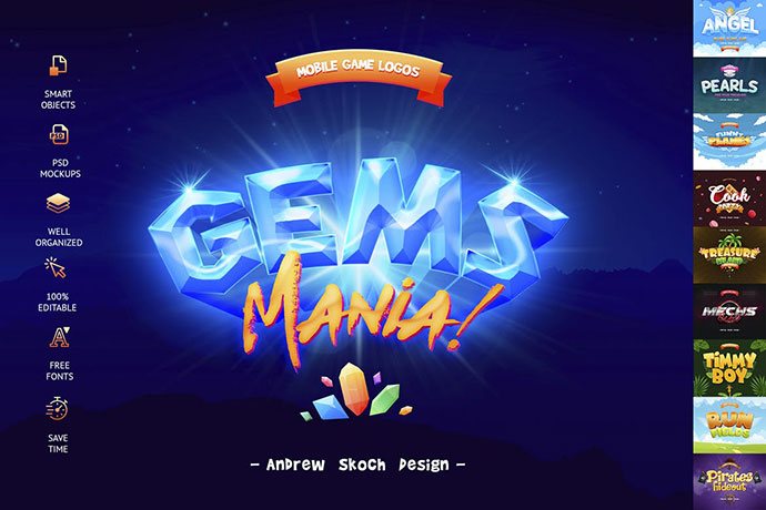 Game Titles Text Effects Vol.3