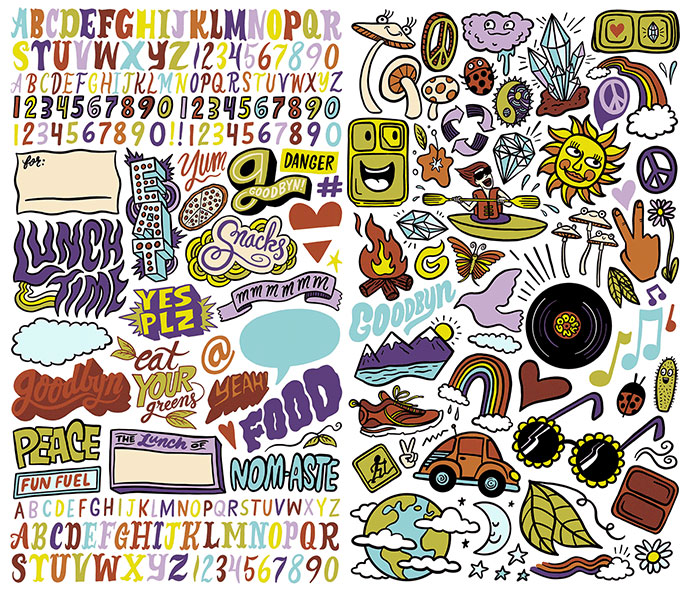 Goodbyn Sticker Sets