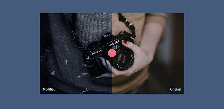 10 Awesome Image Comparison Slider Javascript Libraries