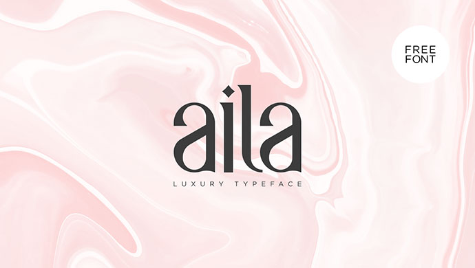 Aila | Free Typeface