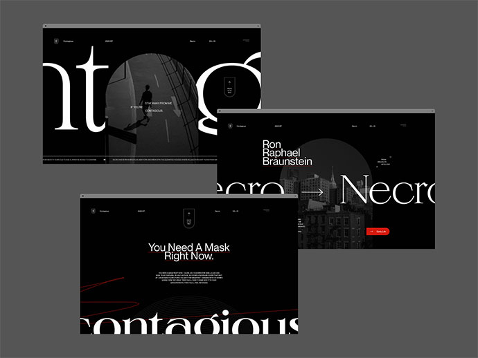 Type & Layout Explorations