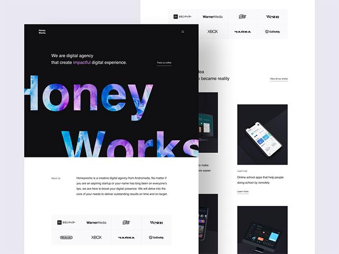 Honeyworks - Digital Agency Website