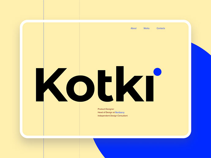 Kotki - Personal site