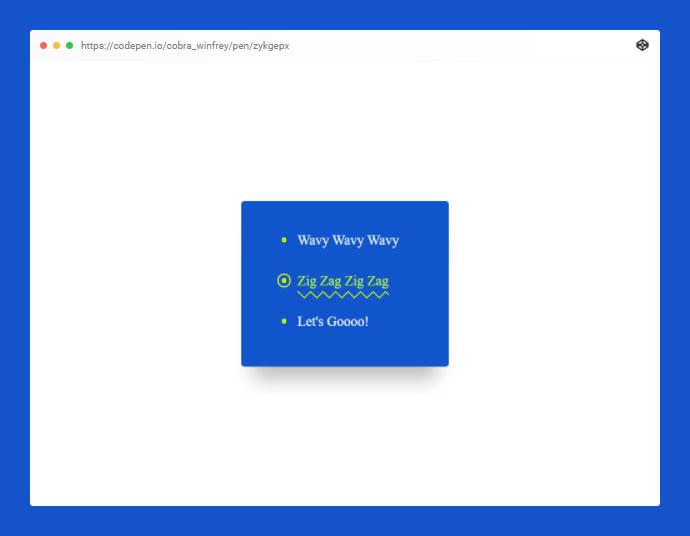 Animated SVG Links