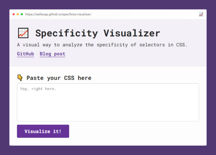 Specificity Visualizer