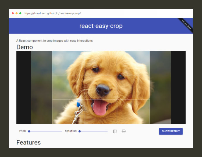 React Easy Crop