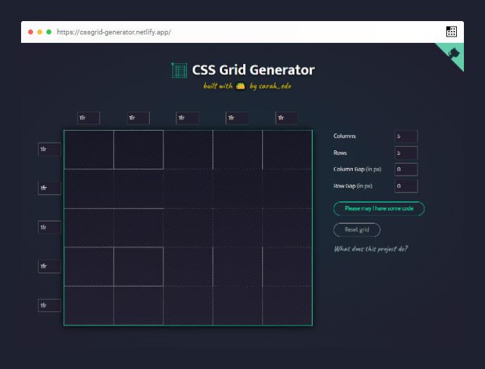 Cssgridgenerator