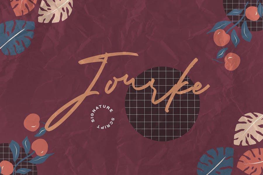 Jourke - Signature Script